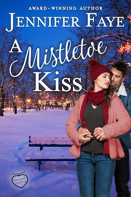 A Mistletoe Kiss by @JenniferFaye34 #SweetRomance #Holidayreading@PrismBookTours