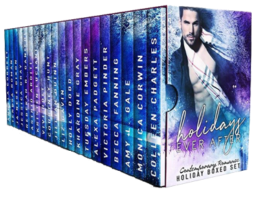 Which holiday hottie will you unwrap first? Holidays Ever After #Romance #BoxSet@ExpressoReads