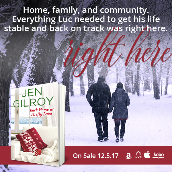Back Home at Firefly Lake by @JenGilroy1 #NewRelease #WomensFic @Barclay_PR