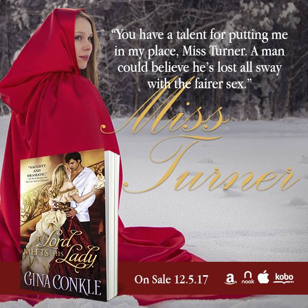 The Lord Meets His Lady by @GinaConkle #Historical #Romance@Barclay_PR