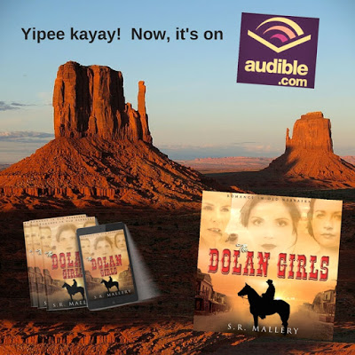 The Dolan Girls by S.R. Mallery #WesternRomance #AudioBook @MoBPromos@SarahMallery1