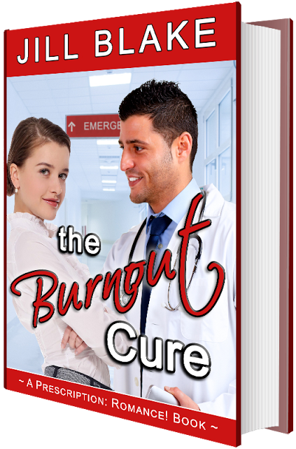 The Burnout Cure by @Jill_Blake #KindleUnlimited #Romance@MoBPromos