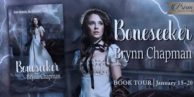 Boneseeker by Brynn Chapman #RomSuspense #amreading @PrismBookTours@rrsmythe