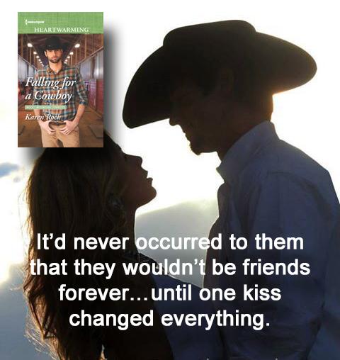 falling for a cowboy kiss