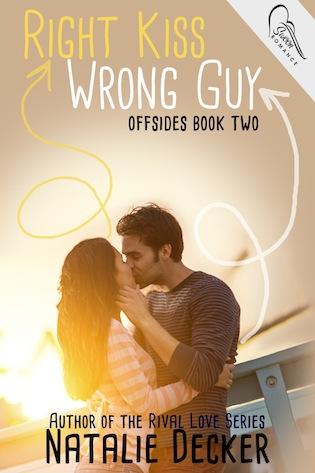 Right Kiss Wrong Guy by Natalie Decker #YA #romance @ExpressoReads @AuthorNatDecker