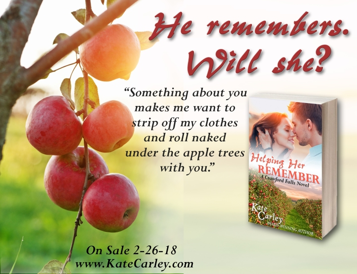 Helping Her Remember by Kate Carley #NewRelease #Romance @Barclay_PR @KateCarleyBooks