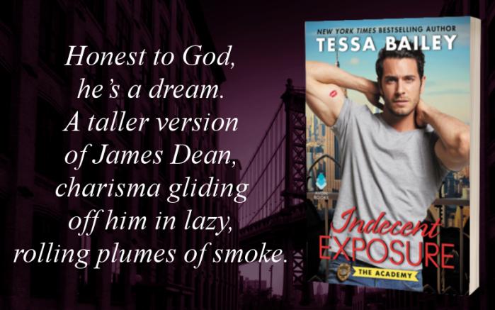 Indecent Exposure by Tessa Bailey #Romance #NewRelease @puretextuality @AvonBooks@mstessabailey