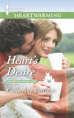 Heart's Desire by Catherine Lanigan premiering on the @HallmarkChannel March 17th #HarlequinHeartwarming #Romance @PrismBookTours @cathlanigan