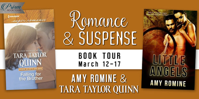 An exciting new #Romance and #Suspense #Book tour with @PrismBookTours @AmyJRomine @tarataylorquinn
