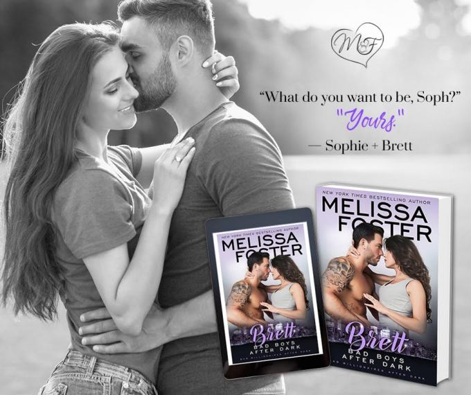 Everything's naughtier after dark… Bad Boys After Dark: Brett by @Melissa_Foster #Romance #Reading @InkSlingerPR