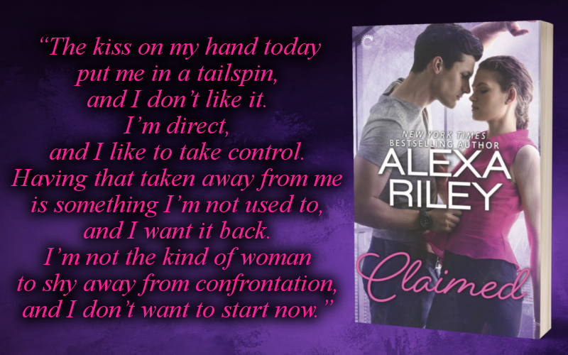 Claimed by Alexa Riley Promo Graphic 2