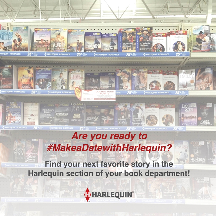 Escape to your happy place when you #MakeaDateWithHarlequin! @HarlequinBooks@Barclay_PR