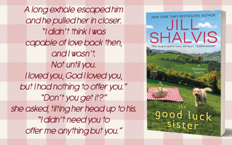 The Good Luck Sister by Jill Shalvis - Promo Graphic 2