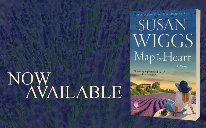 Map of the Heart by Susan Wiggs - Promo Graphic 2