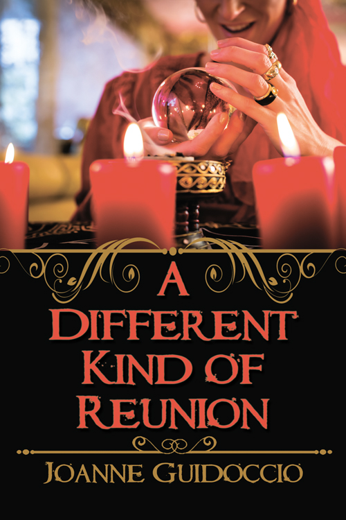 Can Gilda and the psychic solve this case before the killer strikes again?… A Different Kind of Reunion by @JoanneGuidoccio #CozyMystery #Reading @WildRosePress