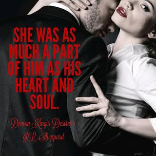 Demon King's Desire by J.L. Sheppard #Fantasy #NewRelease @MoBPromos@JL_Sheppard
