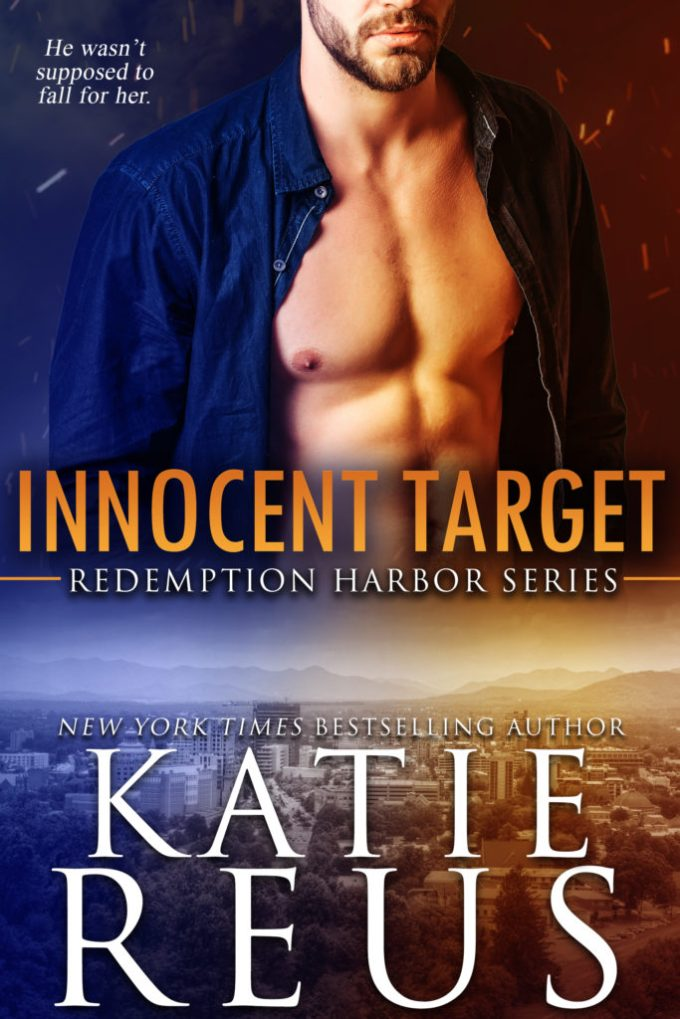 He wasn't supposed to fall for her… Innocent Target by @KatieReus #RomSuspense #Reading @InkSlingerPR