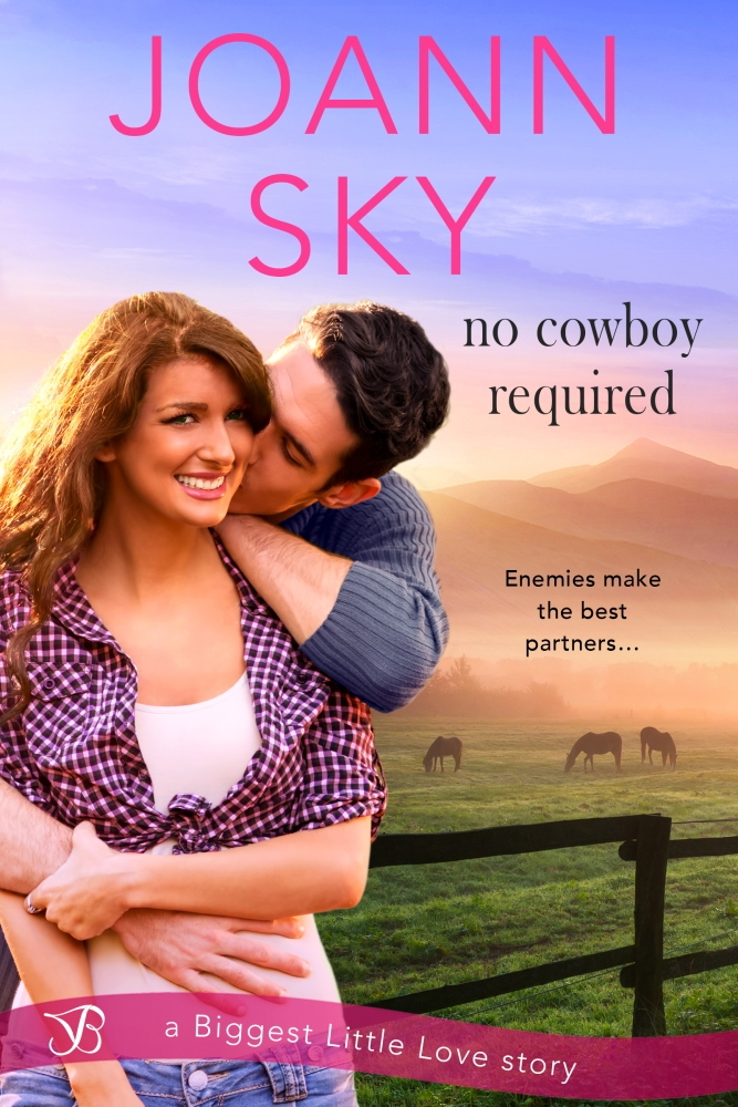 Enemies make the best partners… No Cowboy Required by JoAnn Sky #Romance #Reading @Barclay_PR @JASkyBooks