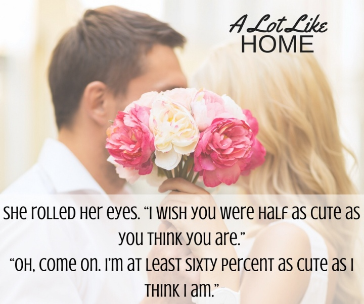 A Lot Like Home by @KatCantrell #NewRelease #Romance @InkSlingerPR