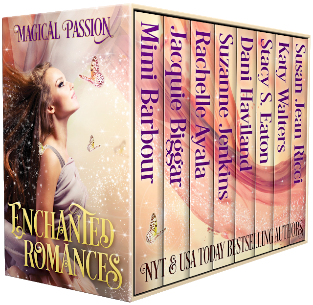 Eight #paranormal stories with romance and happy ever after endings by award winning and bestselling authors…  Enchanted #Romances #mgtab