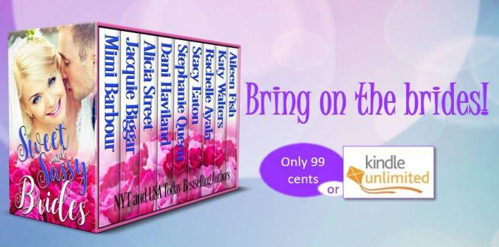 This box set is our homage to the sweet and sassy side of romance. We hope you enjoy! Sweet and Sassy Brides #Summerreading #Romance #mgtab @MoBPromos