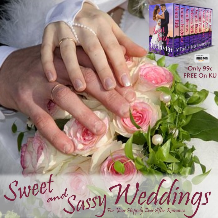 Celebrate true love and commitment with SWEET and SASSY WEDDINGS #Romance #Bookish#mgtab