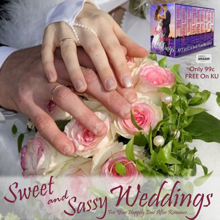 Celebrate true love and commitment with SWEET and SASSY WEDDINGS #Romance #Bookish #mgtab