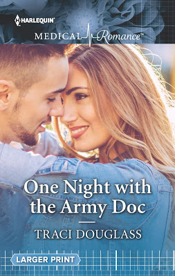 Is one night enough… One Night with the Army Doc by @Traci_Douglass @HarlequinBooks #Romance #amreading@PrismBookTours