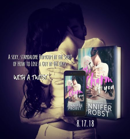 It Takes Three Simple Steps To Make a Guy Fall in Love with you… The Charm of You by @JenniferProbst #Romance #SummerReading@InkSlingerPR