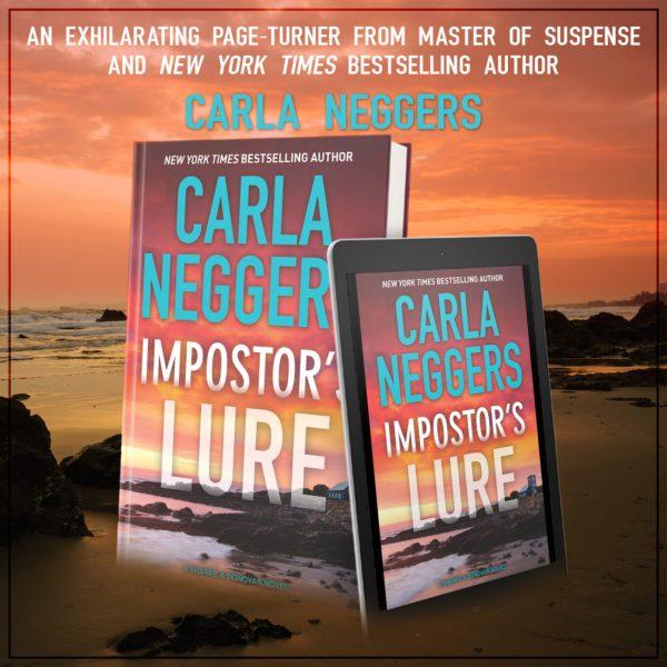 Impostor's Lure is full of clever twists! @CarlaNeggers #amreading #RomSuspense@InkSlingerPR