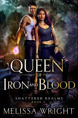 The storm was only the beginning… Queen of Iron and Blood by @Melissa_Wright #YA #SciFi@PrismBookTours