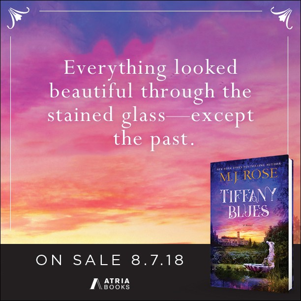 Jenny's past and present are thrown together in a desperate moment, that will threaten her promising future, her love, her friendships, and her very life. Tiffany Blues by @MJRose @InkSlingerPR #Mystery #Reading