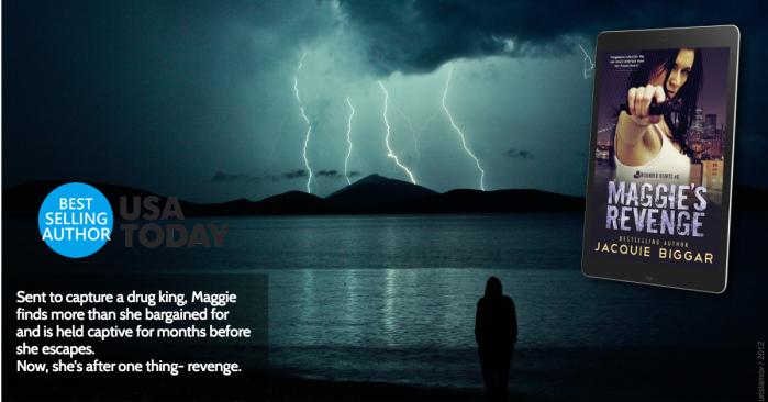 Maggie's Revenge by Jacquie Biggar #Suspense #Read#mgtab