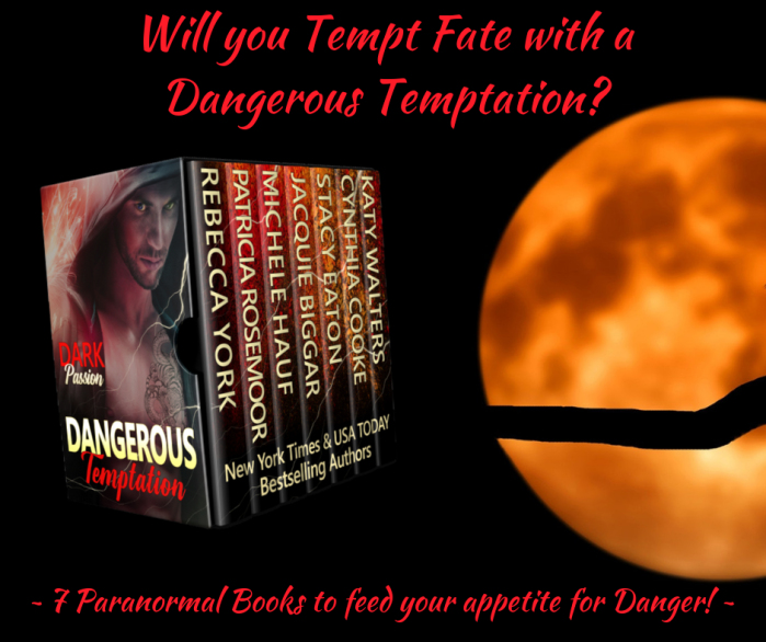 SEVEN Paranormal Romances to feed your appetite for danger… Dangerous Temptation: Dark Passion #PNR #mgtab#reading