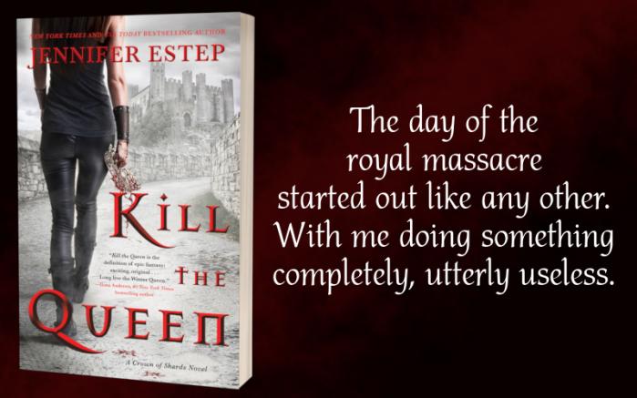 GladiatormeetsGame of Thrones: Kill the Queen by @Jennifer_Estep #Fantasy #Suspense@PureTextuality