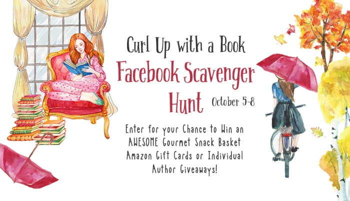 Play our scavenger hunt and you could win our grand prize gift basket or other awesome prizes! CURL UP WITH A BOOK FACEBOOK SCAVENGER HUNT Oct 5-8.   #bookwrapt #FBcurlupwithabook