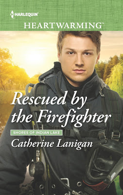 He saved her life… Rescued by the Firefighter @CathLanigan #Romance #BookLove @PrismBookTours @HarlequinBooks