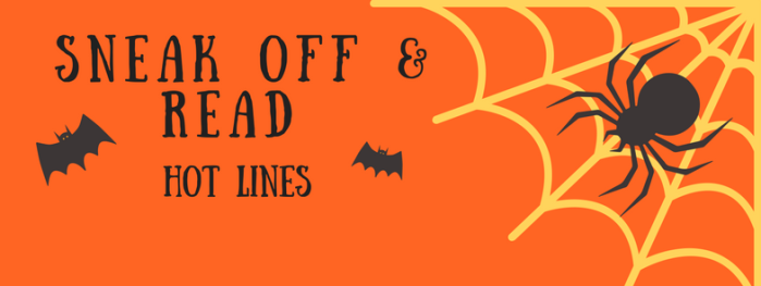 Sneak Off and Read: Lines with the topic, HALLOWEEN #RSsos#RomSuspense