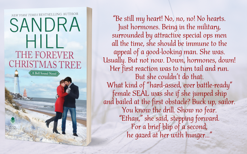 Teaser Graphic - The Forever Christmas Tree by Sandra Hill - 3