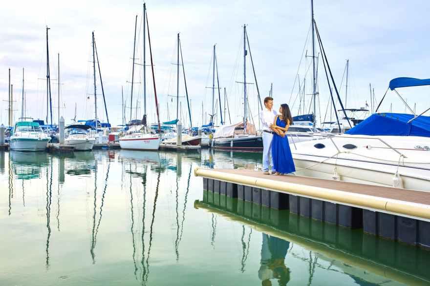 bay blur boat boats