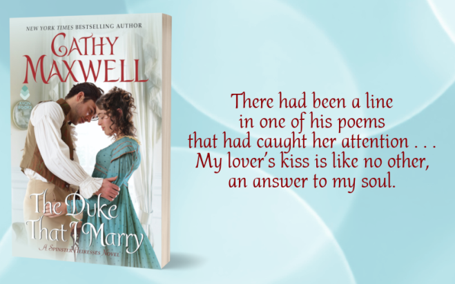 Teaser Graphic - The Duke That I Marry by Cathy Maxwell - 2