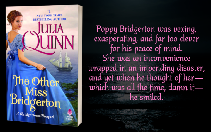 Teaser Graphic - The Other Miss Bridgerton by Julia Quinn - 1