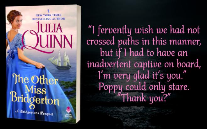 Teaser Graphic - The Other Miss Bridgerton by Julia Quinn - 3