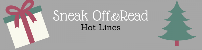Sneak Off and Read: Lines with the topic, SEX #RSsos#RomSuspense