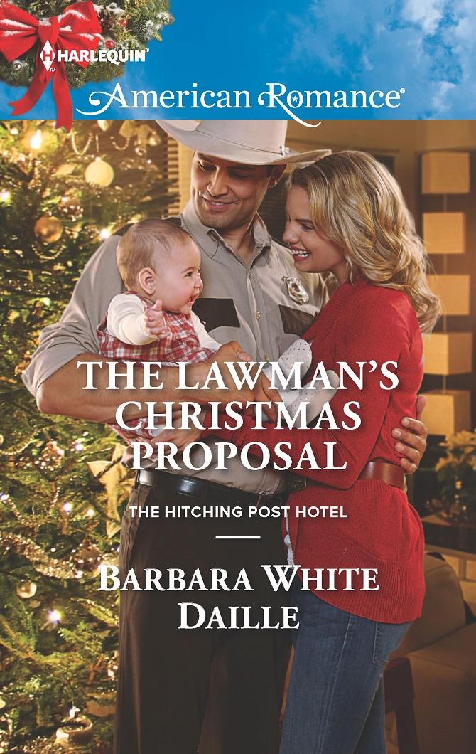 The Lawman's Christmas Proposal by @BarbaraWDaille #HarlequinBooks #Romance