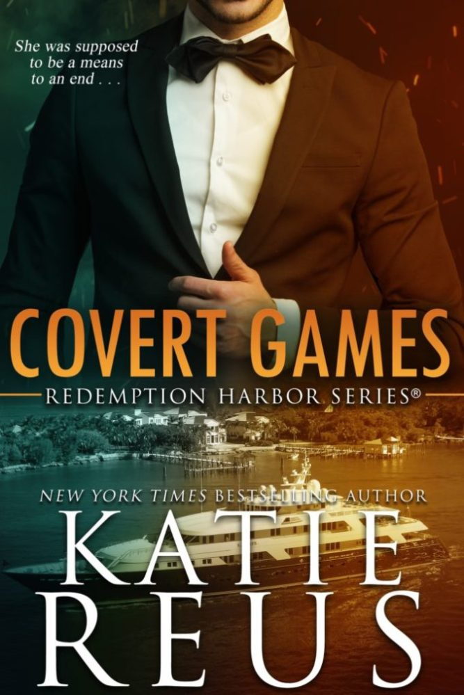 She was supposed to be a means to an end… Covert Games by @KatieReus #RomanticSuspense #Reading @InkSlingerPR