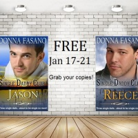 2 #FREE #Kindle romance novels JAN 17-21 The Single Daddy Club: Jason and Reece By Donna Fasano @DonnaFaz