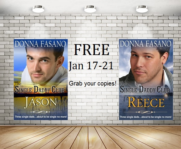 2 #FREE #Kindle romance novels JAN 17-21 The Single Daddy Club: Jason and Reece By Donna Fasano@DonnaFaz