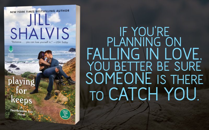 promo graphic - playing for keeps by jill shalvis - 1