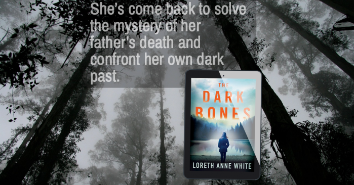 A cold-blooded killer resurfaces from the past… The Dark Bones by Loreth Anne White #Suspense #BookReview @Loreth